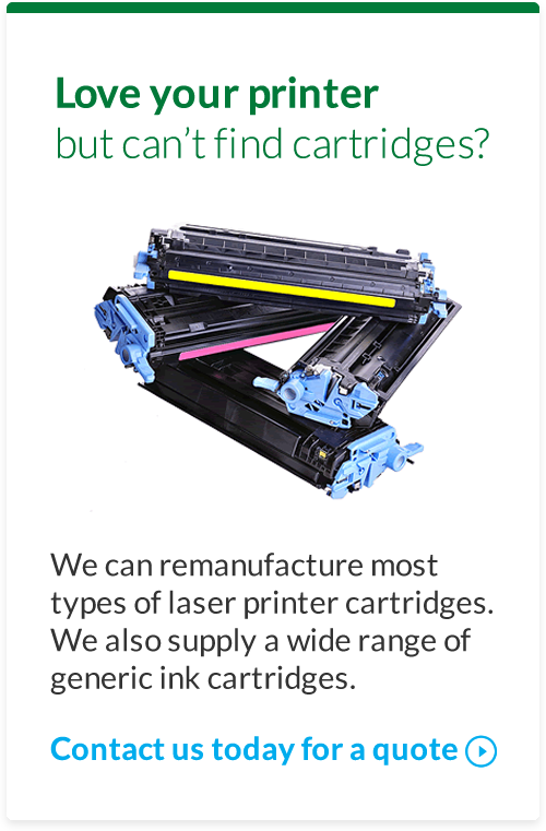 Love your printer but can't find cartridges?