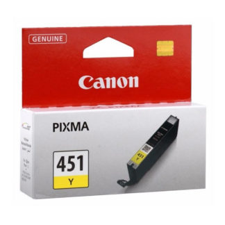 Canon CLI-451 Original Yellow Ink Cartridge