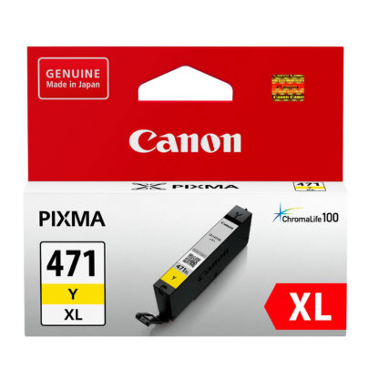 Canon CLI-471XL Original Yellow Ink Cartridge