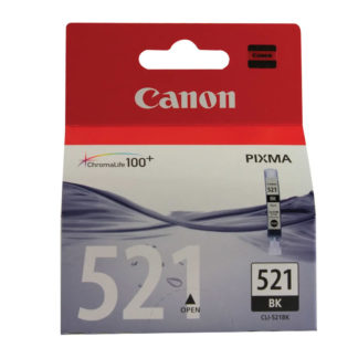 Canon CLI-521 Original Black Ink Cartridge