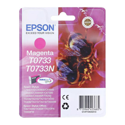 Epson T0733 Original Magenta Ink Cartridge