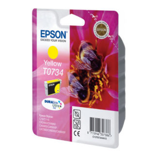 Epson T0734 Original Yellow Ink Cartridge