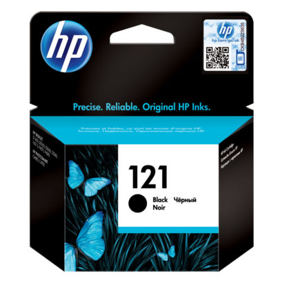 HP 121 Black Original Ink Cartridge