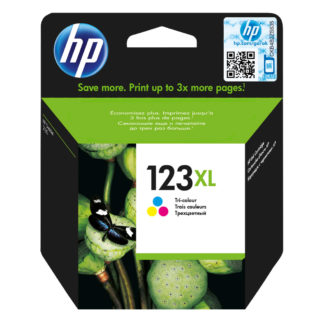 HP 123XL High Yield Tri-color Original Ink Cartridge