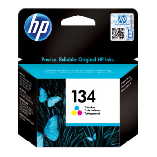 HP 134 Tri-color Original Ink Cartridge