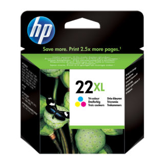 HP 22XL High Yield Tri-color Original Ink Cartridge