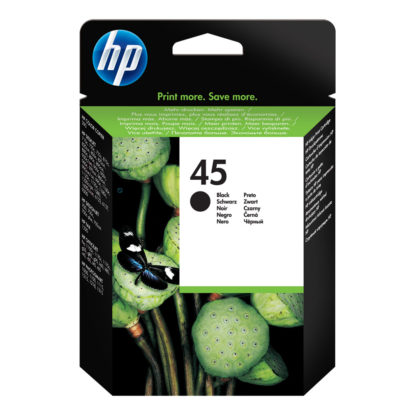 HP 45 Large Black Inkjet Print Cartridge