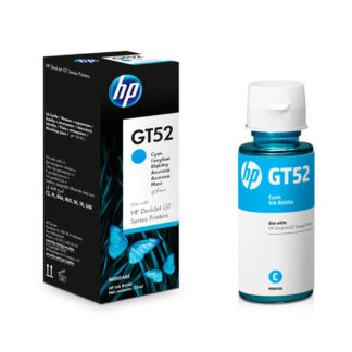 HP GT52 Cyan Original Ink Bottle