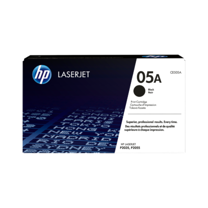 Original HP 05A Black Laser Cartridge