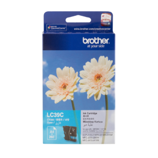 Brother LC39-C Original Cyan Ink Cartridge