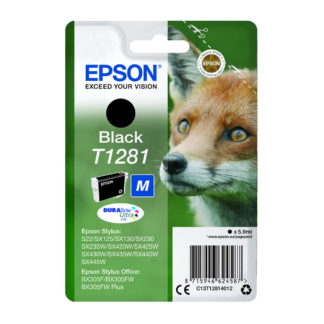Epson T1281Original Black Ink Cartridge