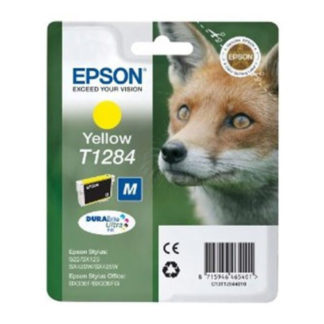Epson T1284 Original Yellow Ink Cartridge