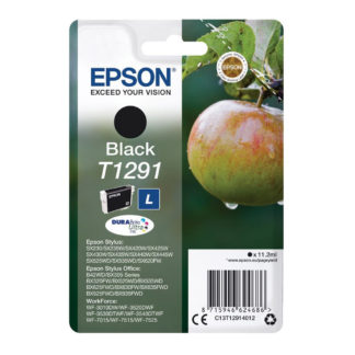 Epson T1291 Original Black Ink Cartridge