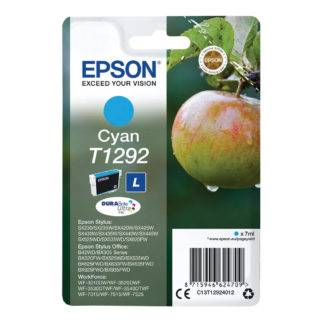 Epson T1292 Original Cyan Ink Cartridge