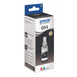 Epson T6641 Original Black Ink Bottle