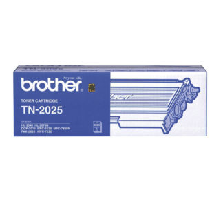 Original Brother TN2025 Black Laser Cartridge