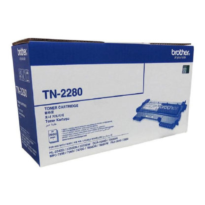 Original Brother TN2280 Black Laser Cartridge