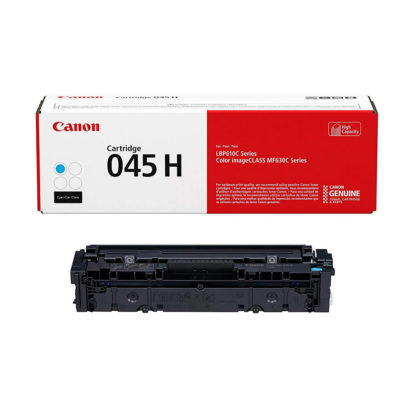 Original Canon 045 H Cyan Laser Cartridge