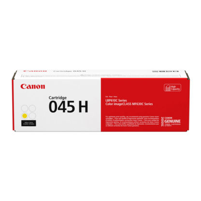 Original Canon 045 H Yellow Laser Cartridge