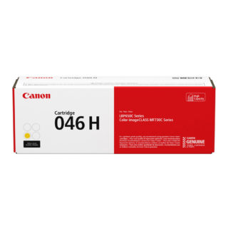 Original Canon 046 H Yellow Laser Cartridge