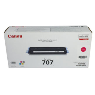 Original Canon 707 Magenta Laser Cartridge