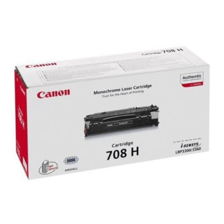 Original Canon 708 H Black Laser Cartridge