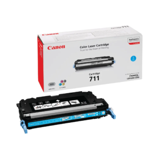 Original Canon 711 Cyan Laser Cartridge