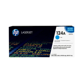 Original HP 124A Cyan Laser Cartridge