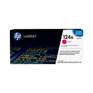 Original HP 124A Magenta Laser Cartridge