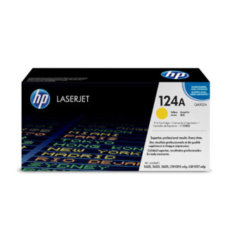 Original HP 124A Yellow Laser Cartridge