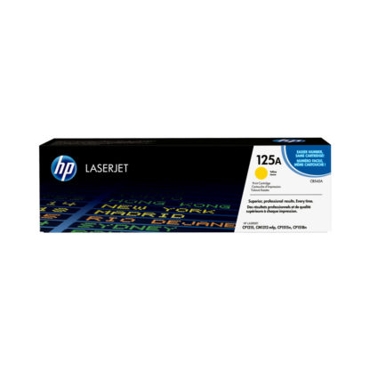 Original HP 125A Yellow Laser Cartridge