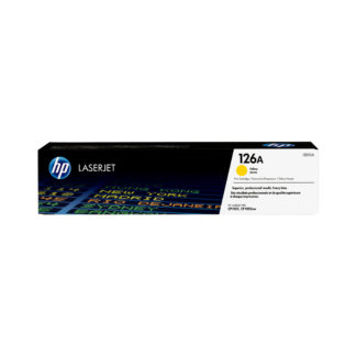 Original HP 126A Yellow Laser Cartridge
