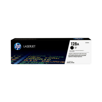 Original HP 128A Black Laser Cartridge