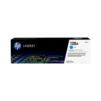 Original HP 128A Cyan Laser Cartridge