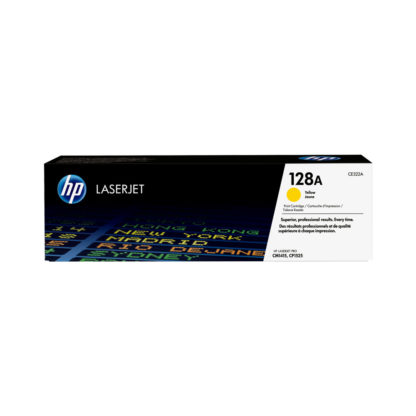 Original HP 128A Yellow Laser Cartridge