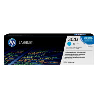 Original HP 304A Cyan Laser Cartridge