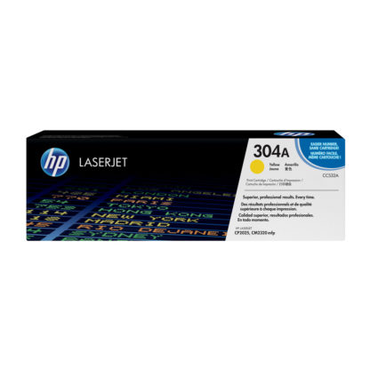 Original HP 304A Yellow Laser Cartridge