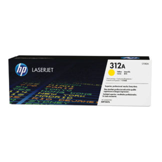 Original HP 312A Yellow Laser Cartridge