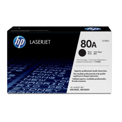 Original HP 80A Black Laser Cartridge
