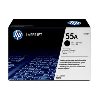 Original HP CE255A Black Laser Cartridge