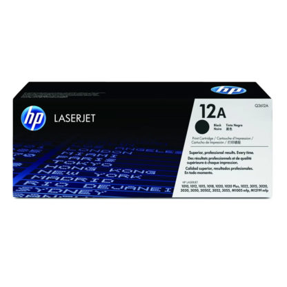 Original HP Q2612A Black Laser Cartridge
